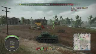 World of Tanks PS4 - AMX 13.90 Spot & Troll sur Live Oaks
