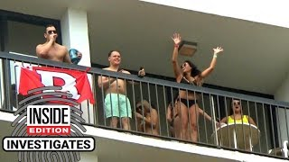 This Is How Dangerous Balconies Can Be During Spring Break