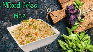 How to make mixed rice|| at home|| #mixedrice #eggrice #food