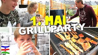 1. Mai GRILL PARTY 😁 TipTapTube Family 👨‍👩‍👦‍👦