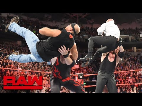 The Undertaker and Kane lay out Triple H and Shawn Michaels: Raw, Oct. 1, 2018 thumbnail