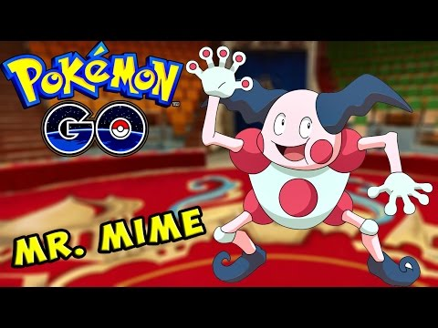 Pokemon Go / Покемон Го ► Выпал очень РЕДКИЙ покемон Mr. Mime ► #56