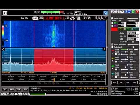 International Radio Serbia 6100 kHz received in Germany on Elad FDM-S2