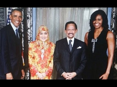 Sultan Of Brunei, The Obama Family, Hillary Clinton