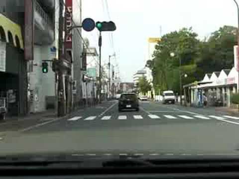 山口市街(湯田温泉街周辺)#1
