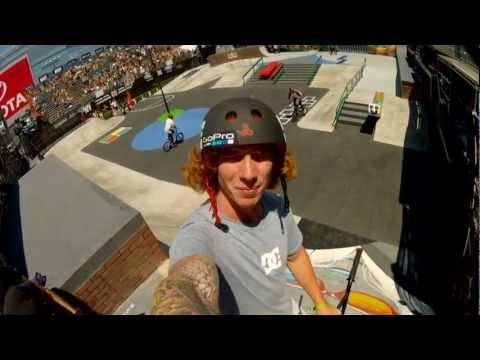 GoPro HD: BMX Street Course Preview with Jeremiah Smith and Chad Kerley - Summer X Games 2012