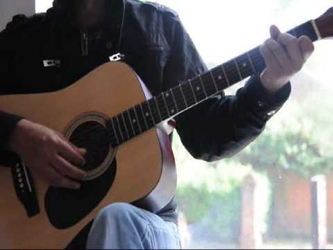 Mitwa Guitar Tutorial With Chords Kabhi Alvida Na Kehna - Vineet...