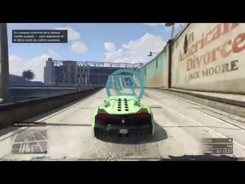 Super carrera gta v PS4  todo saltos