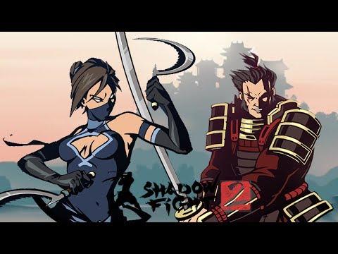 Shadow Fight 2 (БОЙ С ТЕНЬЮ 2) ПРОХОЖДЕНИЕ - ВОСХОЖДЕНИЕ. СЕТ МОНАХА