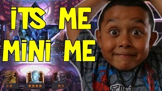 MINI ME DOES HIS FIRST EVER CRYSTAL OPENING!!! MARVEL: Contest of Champions (iOS/Android)