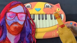 Breakbot Baby I 39 M Yours But It 39 S On A Cat Piano A Chicken And Iphone
