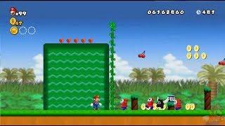 New Super Mario All Stars HD: Super Mario Bros 2 REMAKE 100% Mundo 1