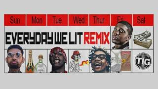 download lagu Yfn Lucci - Everyday We Lit Remix Feat. Pnb gratis