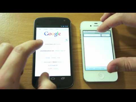 iPhone 4S vs Galaxy Nexus: Speed Test