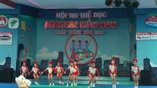 Giải nhất aerobic mầm non 2018 trường mầm non hoạ mi 2 quận 5