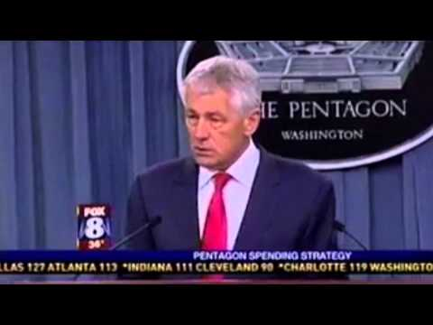 C-QUEST: Defense Sec. Chuck Hagel Wants Review of Cuts to Pentagon