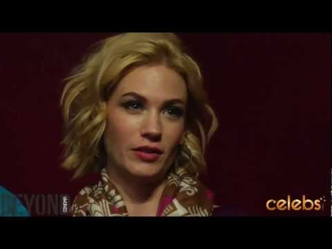 January Jones, Jason Isaacs taste Sundance's Sweetwater -a Celebs.com Original