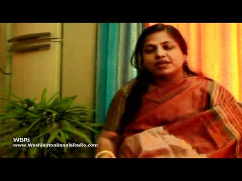 Washington Bangla Radio | LIPIKA DAS A Musical Interview Nazrulgeeti Singer from Kolkata