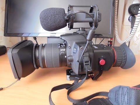 Ручная фокусировка на DSLR в режиме видео - Сними кино!