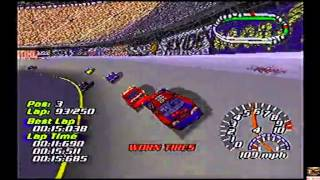 Let´s Play Nascar 2001 PS1 Bristol (Day) (250 laps) Race 6/34