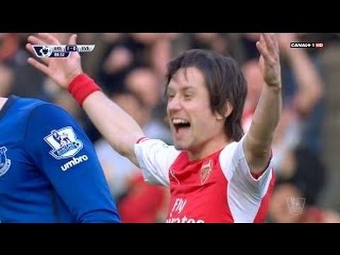 Arsenal vs Everton 2-0 Full match Highlights - 01.03.2015
