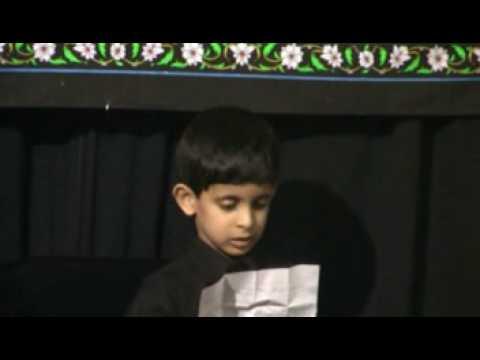 Children Majlis 2009- Asghar video