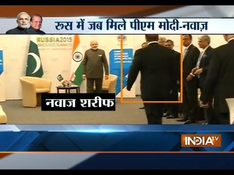 PM Modi meets Nawaz Sharif: Know What All Happened | India Tv
