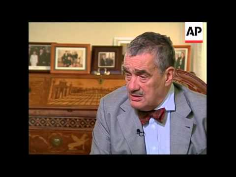Intview with Czech FM on missile defence
