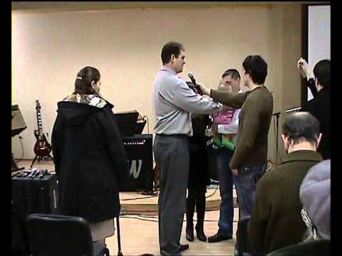 Молитва над ребёнком семья Привалихины ц Добрая Весть