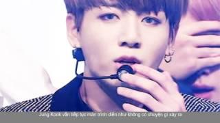 Mặc tay chảy máu -  Jung Kook BTS vẫn biểu diễn cực sung