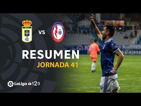 Resumen de Real Oviedo vs CF Rayo Majadahonda (4-3)