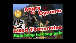 Angry Dynamo Killed His Teammates, Dynamo Funny Teammates, Hum baap ke baap hain