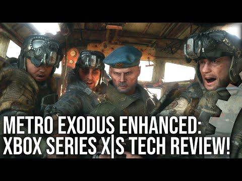 Exclusive - Metro Exodus Enhanced Edition: Xbox Series X S DF Tech Review