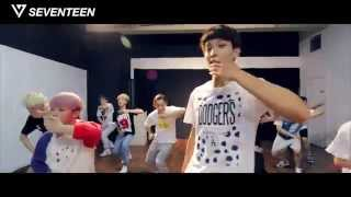 [Dance Practice] SEVENTEEN(???) -'???(Adore U) - 'Follow Me' Ver.