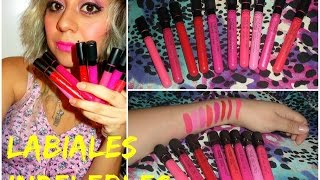 Reseña de Labiales indelebles chinos - LONG LASTING LIP GLOSS Review by Ayerim