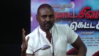 Raghava Lawrence - I was right anger on Media