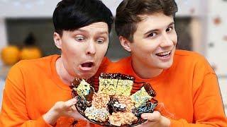 Halloween Baking - Creepy Crispy Cakes CONJOINED CHALLENGE!