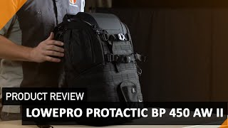 Lowepro ProTactic BP AW II Camera Bag - Real Life Product Review