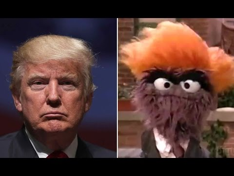 'Sesame Street' has been mocking Trump — here are the best moments