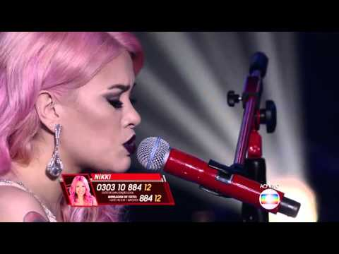 Nikki canta 'Hello' no The Voice Brasil - Semifinal | 4ª Temporada