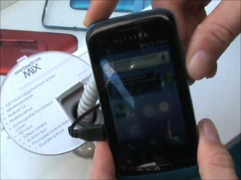 Alcatel OT 918 Mix al MWC 2012