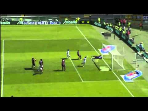Juventus - Genoa 10.04.2011 Highlights