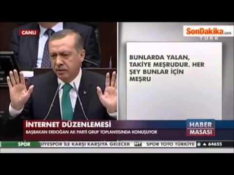 Recep Tayyip Erdoğan Melih Gökçek'e Ayar Verdi