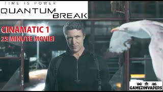 Quantum Break 1st Cinematic Tv Show (25 Minute Movie) PR Junction 1