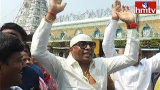 తిరుమలలో భక్తులతో కలిసి సందడి చేసిన శివమణి  | Sivamani Visits Tirumala | hmtv