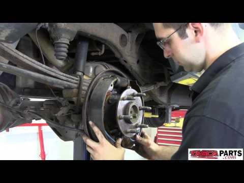 How To Install OEM Rear Drum Brakes 2011 Chevy Silverado