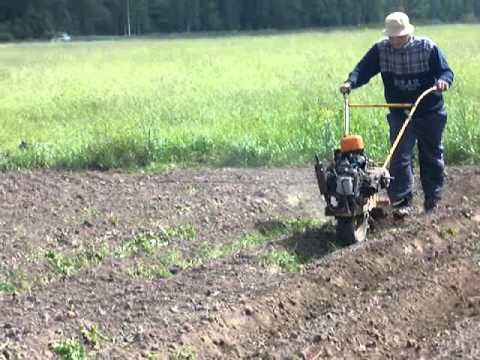 traktoriukas (homemade one wheel tractor)