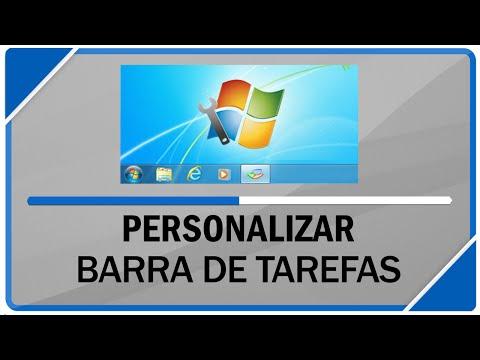 Como personalizar barra de tarefas do windows por completo ( Qualquer versão )