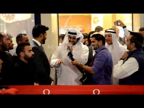 Abhishek Bachchan in 360 mall on inauguration of Omega Boutique , Kuwait #AbhishekBachchan
