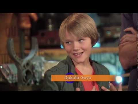 Real Steel's Hugh Jackman & Dakota Goyo - Radio Disney Conversations with Candice